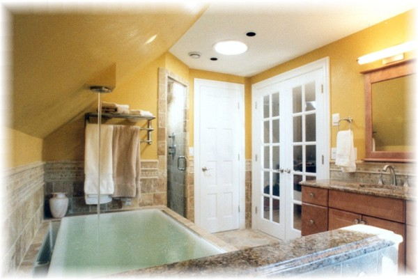 Larchmont Ny Master Bathroom Suite Remodeling