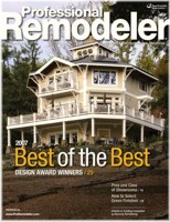 Best Of The Best Design Award Winners - Professional Remodeler Magazine, Nov. '07