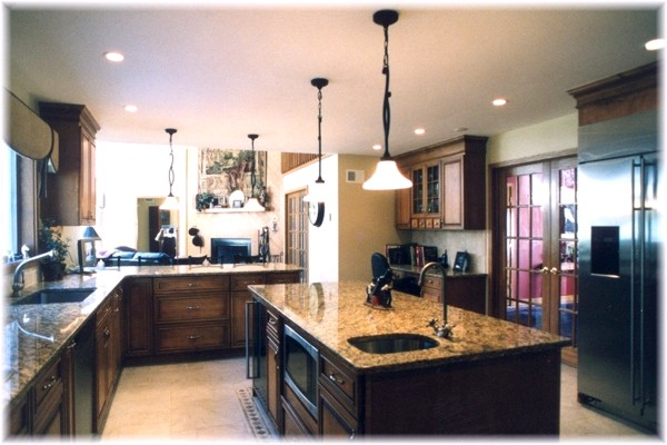 Complete custom design kitchen renovation remodeling ideas pictures